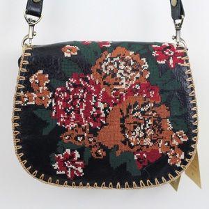 Patricia Nash Tapesty Stitch Salerno Crossbody Bag